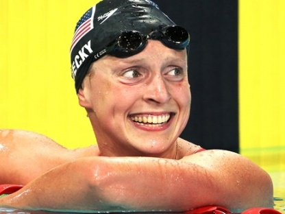 katie ledecky-Australia Pan Pacs Swimming