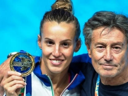 XVI FINA World Championships Aquatics Swimming CAGNOTTO Tania ITA gold medal