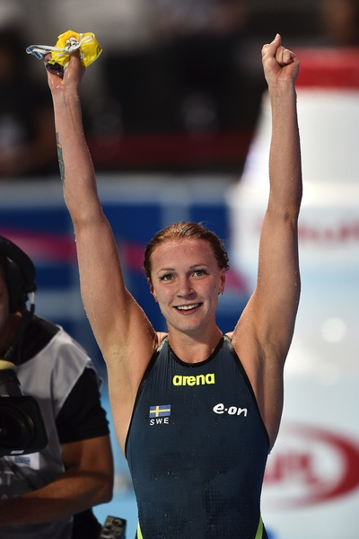 SJOSTROM Sarah SWE Women's 100m Butterfly Final World Record